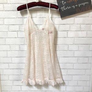 Betsey Johnson Intimate Lace Sleepwear Mini Dress